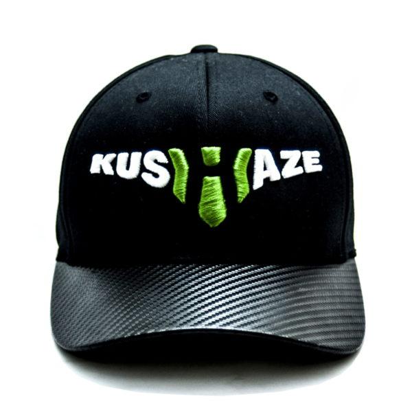 """Czapka Fullcap """"kusHaze"""" Carbon"""