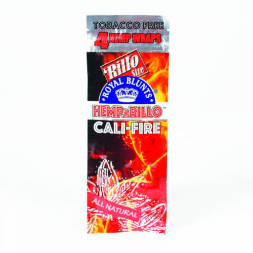 4x Hemparillo™  Cali-fire - Hemp Blunt Wraps (115mm)