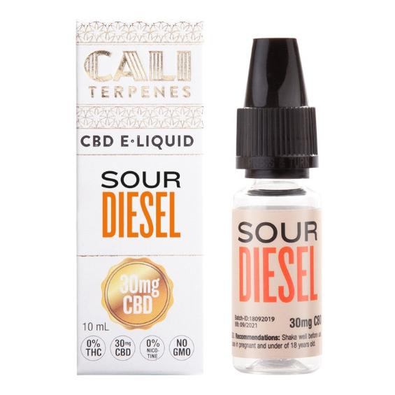 E-liquid CBD Sour Diesel