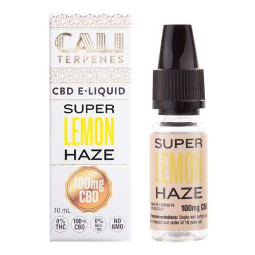 E-liquid CBD Super Lemon Haze