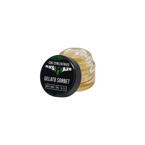 koncentrat cbd gelato sorbet