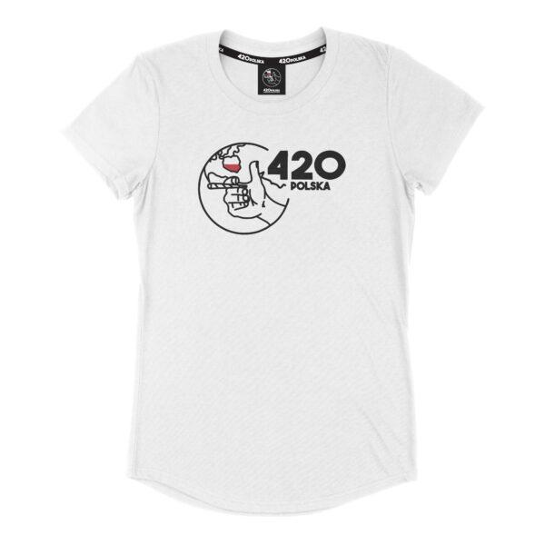 Koszulka 420 Polska Damska