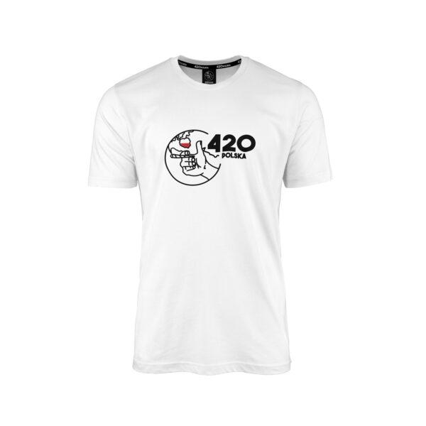 Męska Koszulka 420 Polska
